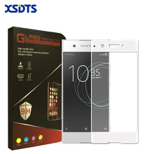 "Buy XSDTS Full Cover Tempered Glass Sony XA1 Screen Protector Sony Xperia XA1 / Dual G3112 5.0"" Toughened Protective Film for $2.99 in AliExpress store"