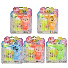 Automatic Soap Animal Bubble Gun Cartoon Animal Model Colorful Soap Water Bubbles  Plastic Kid Outdoor Toy