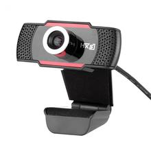 HXSJ S30 HD 1080P USB Webcam 1.0MP Web Camera Digital Video Computer Camera with Built-in Microphone Free Shipping(China)