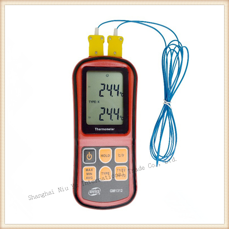 6 kinds of temperature measurement Thermometer Portable LCD display Contact Thermocouple Thermometer New style<br><br>Aliexpress