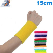 2 peices/lot Sports Wrist Support Elasitc Protective Sleeve for Skating Cycling Basketball Football Tennis Gym Wrist Band