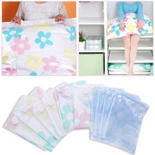 11Pcs/set Reusable Vacuum Compressed Bag Thickened Vacuum Storage Bag with Hand Pump Blanket Clothes Quilt Storage Bag Organizer