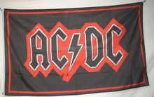 AC DC Rock Band Flag 3x5FT banner 100D 150X90CM Polyester brass grommets custom66,free shipping(China)
