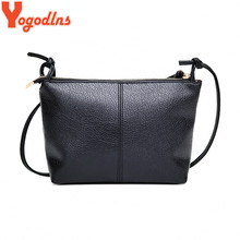 Yogodlns New&Hot ! 2017 fashion casual shoulder bag cross-body bag small vintage women's handbag pu leather women messenger bags