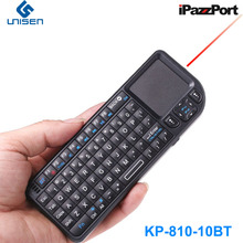 iPazzPort Backlight Mini Bluetooth Keyboard Mouse with Laser Pointer for tablet/smart Phone/Intel Compute Stick(China)
