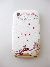 Cute Jimmy Cartoon Cloud TPU Gel Silicone Phone Cover Case for BlackBerry Curve 8520 Cover