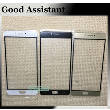 Black/White/Gold For Highscreen Power Five Max / power 5 Max Touch Screen Glass Outer Lens (not touch screen) Free shipping(China)