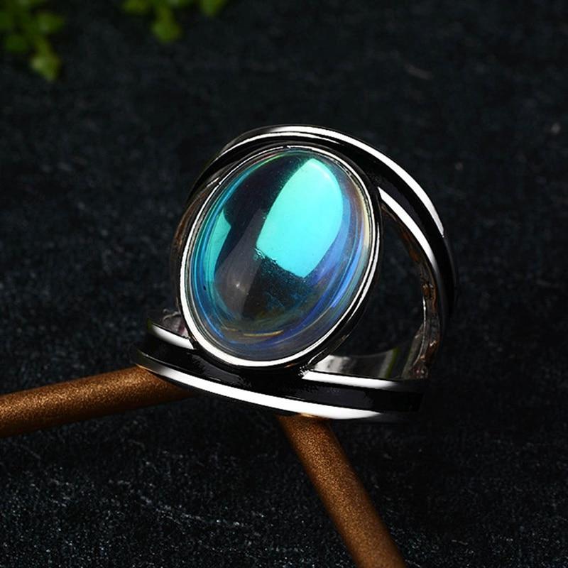 Bague en pierre de lune lithothérapie | oko oko