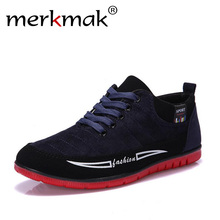 Buy Men's shoes spring autumn mens fashion leisure brand frosted canvas men shoes 2017 flat casual shoes man 38-44 Free for $18.68 in AliExpress store