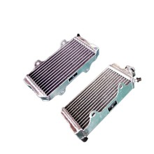 Jungle Army L&R ALUMINUM ALLOY RADIATOR For HONDA ATV ATC250R 1985-1986 motorcycle replacement parts engine cooling parts