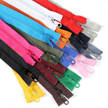 10 pcs Open end Zipper 5# Resin Zipper Down Jacket /Overcoat Zipper Clothing Accessories 70cm