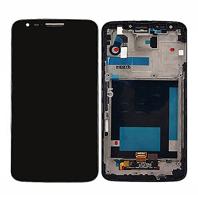 For LG G2 D802 D805 LCD Display + Touch Screen With Frame With Digitizer Assembly Replacement <br><br>Aliexpress