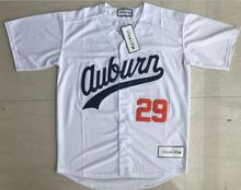 Viva Villa Stitched Mens #29 BO JACKSON Baseball Jersey #28 Bo Jackson Chicks Moive jerseys White S-3XL Free Shipping(China)