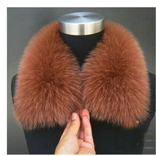 2015 winter fashion Scarves & Wraps collars, The fox fur collars scarves, 20 color female fur scarf collar specials,(China)