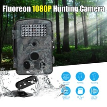 Floureon 1080P HD 12MP Hunting Scouting camera Trail Waterproof Wildlife Record Video Camera Game Security PIR LED Night(China)