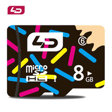 LD Memory Card Micro SD Card 8GB Class 6 Microsd Flash Card Memory Microsd for Smartphone/Tablet