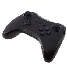 2016 New Black Classic Dual Analog Wireless Controller For Wii U Bluetooth Remote Game Controller Gamepad For Wii U(China)