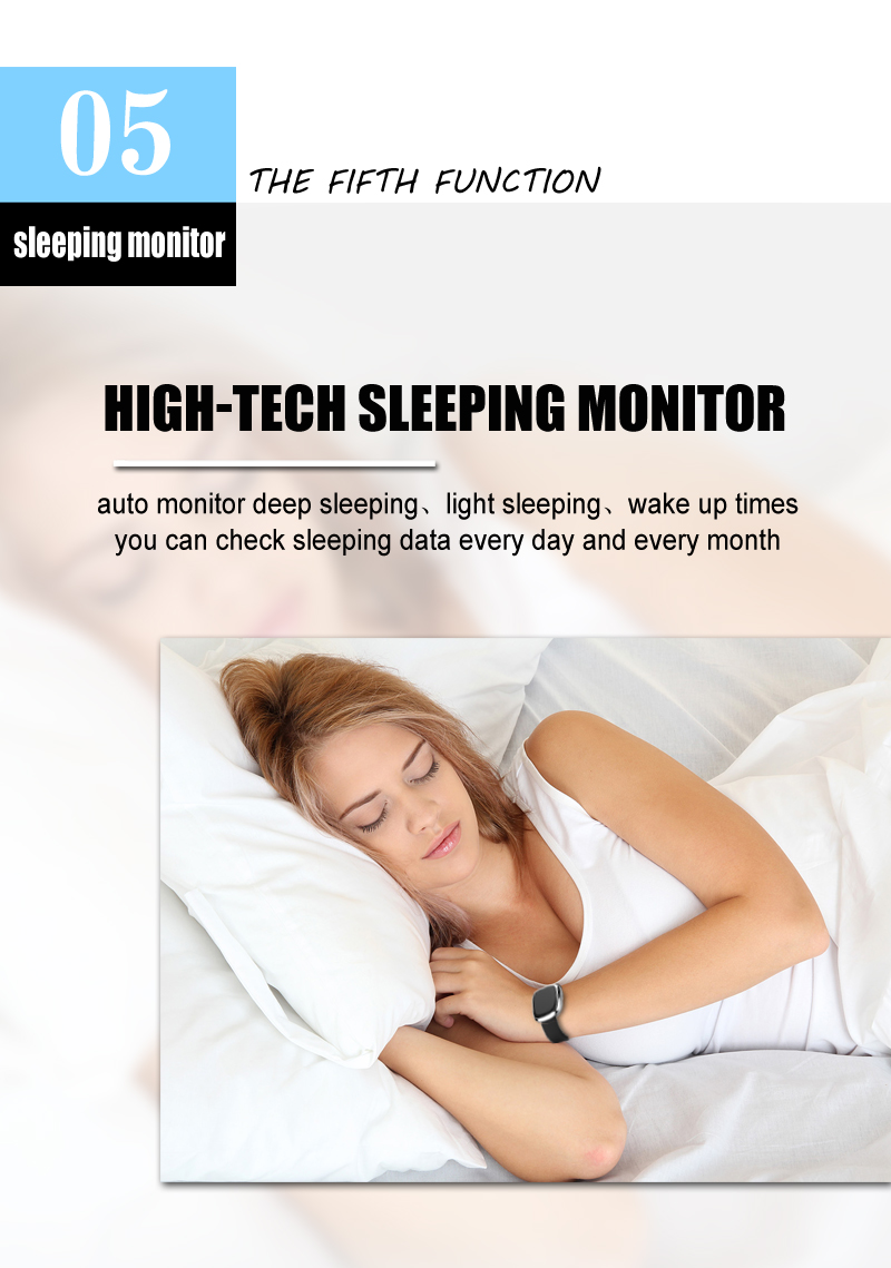 New Smart Wristband P2 Blood Pressure Heart Rate Monitor Smart Band Pedometer Sleep Sports Tracker for IOS Android Waterproof 10