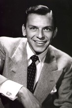 DIY frame Charming Smile Frank Sinatra music poster Black and white great pictures printing on the wall Fabric silk poster