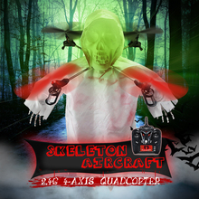 High Quqlity Cheap 1031 Skull Lighting Roll RC aircraft Christmas Gifts drones rc glider Wholesale RC Helicopter Quadcopter(China)