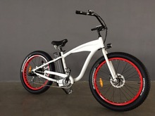 Aluminum Alloy Merry Gold Hummer 2.0 48V 500Watt Electric Bike Mountain Bike 7 Speeds Electric Bicycle Machinical Disc Brakes