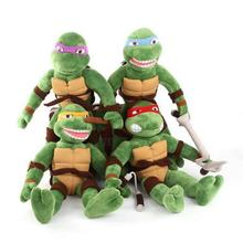 alternative favorite soft cartoon character Anime Ninja Turtle Doll plush stuffed toy bag for children and adaults