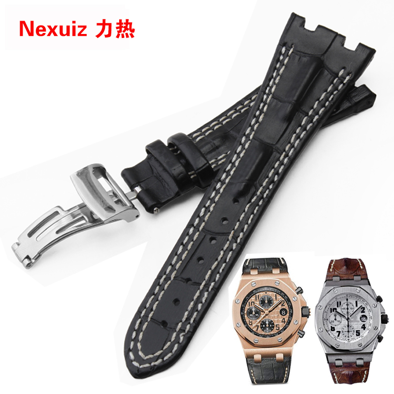 New Arrived 28MM Watchband double line ,2 Styles to Choose,Fold Buckle,Genuine Leather Watch Straps,Free Shipping<br><br>Aliexpress