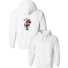 IDzn Brand The Little Mermaid Ariel Women's Hoodies Stained Glass Pullovers Sweatshirts Girl Autumn Hoody Clothes Frauen(China)