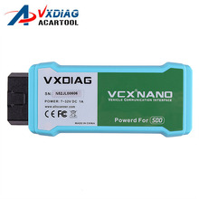 WIFI Version VXDIAG VCX NANO for Land Rover/Jaguar 2 in 1 Software V145 for Land Rover Diagnostic Tool DHL Free Shipping(China)