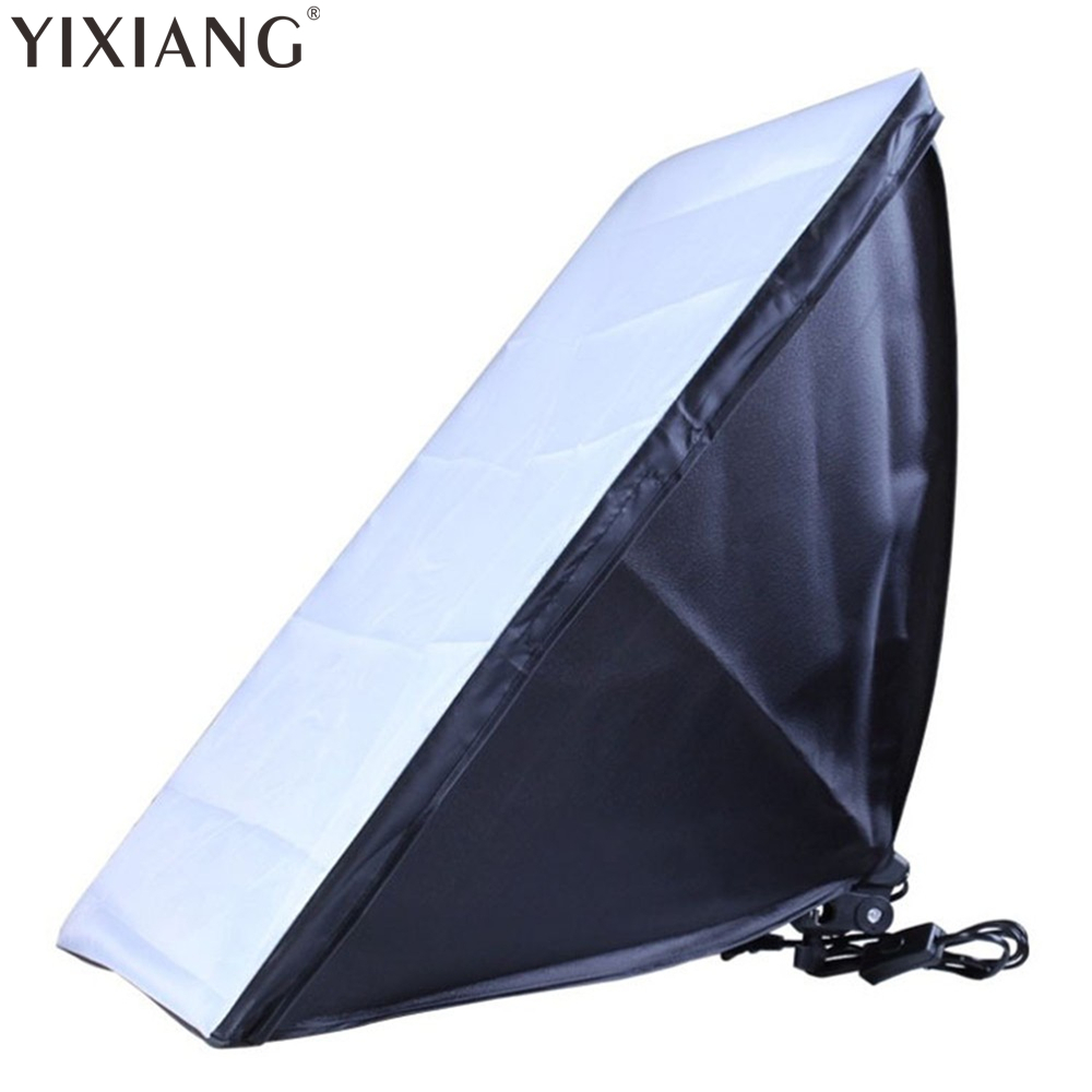 YIXIANG photographic equipment 50x70cm Softbox Soft Box E27 Lamp Holder/Socket For Studio Continuous Lighting<br>