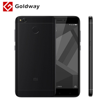 "Original Xiaomi Redmi 4X Pro 4 X 3GB RAM 32GB ROM Mobile Phone Snapdragon 435 Octa Core 5.0"" 4G LTE 4100mAh Fingerprint 13.0 MP(Hong Kong)"