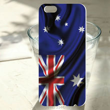 For iphone 7 7plus hard Plastic PC Back Cover For iphone 6 6s plus 5 5s 5c 4s SE Australia flag Painted Protect Case