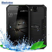 "Blackview BV4000 IP68 Waterproof Mobile Phone 4.7"" HD MTK6580A Quad Core Android 7.0 1GB+8GB 8MP Dual Rear Cameras 3G Cellphone(China)"