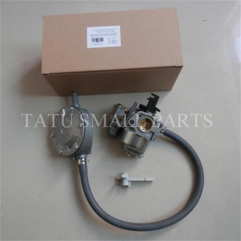 GX160 PUMP LPG DUAL FUEL CONVERSION KIT FOR HONDA GX140 WX30 WP30 WATER 163CC 5.5hp LIQUEFIED CARB REGULATOR PROPANE CARBURETOR<br>