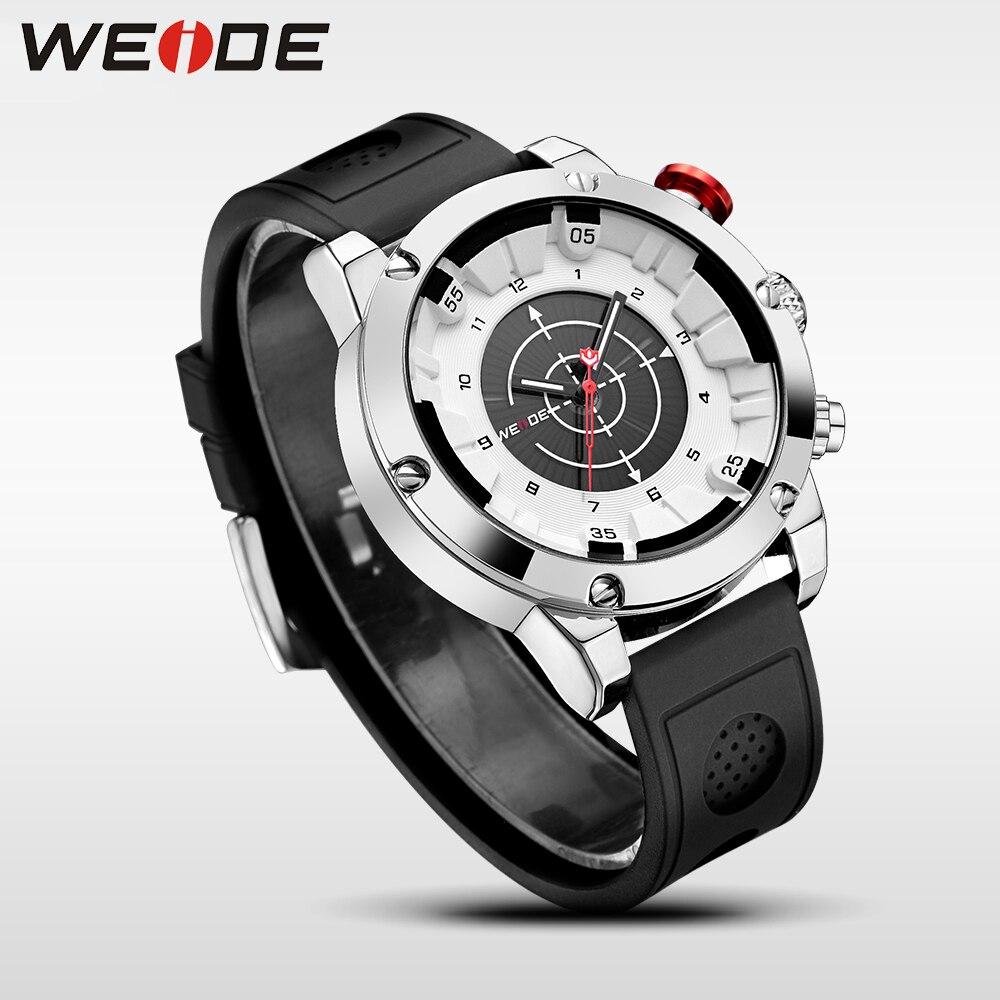 WEIDE luxury Genuine silicon watch quartz men sport Jung Schocker Waterproof watches Electronic wrist watches trinkets Clock Men<br>