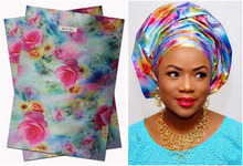 Free shipping  high quality African headtie,Head Gear,Sego Gele & Ipele,Multi Color Sego,2pcs/set,MT01