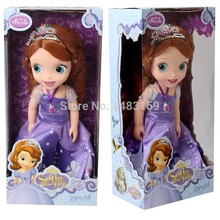 2016 Hot Now fashion Original edition Sofia the First princess doll VINYL toy boneca accessories Doll For Kids Best Gift(China)