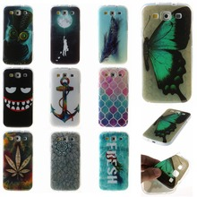 Flower Owl Butterfly Heart Soft TPU For Samsung Galaxy S 3 III S3 i9300 9300 Phone Cases