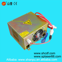 high quality 40W Co2 laser power supply for CO2 laser tube 40W laser stamp machines