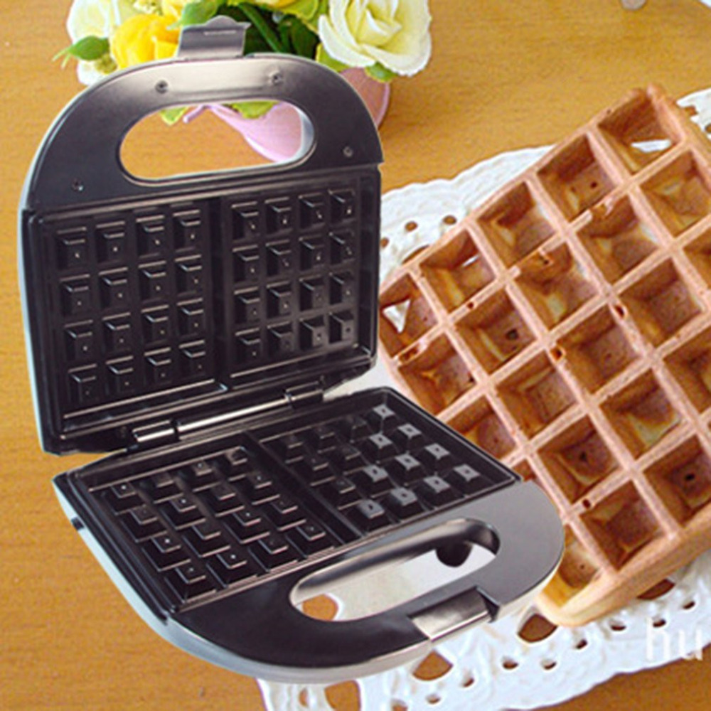 Waffle Maker EU Plug Multifunctional Home Muffin Machine For Kitchen Use Updated Version Stainless Steel Power Saved EU plug<br>