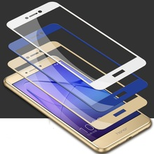 Full Cover Tempered Glass For Huawei P9 P10 Plus P8 P9 P10 lite Screen Protector Film for Mate 8 9 Pro(China)