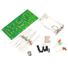 1set New Arrival Clap Switch Suite Electronic Production DIY Kits Red Green LED Display Circuit Electronics Assembly Board