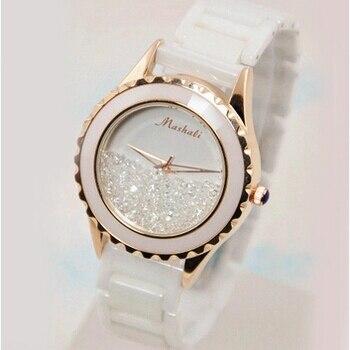 Hot Sales Women Watches! Luxury Crystal Women watch Female Quicksand Dress Watch Ladies Fashion Rhinestone Wristwatches B39<br><br>Aliexpress