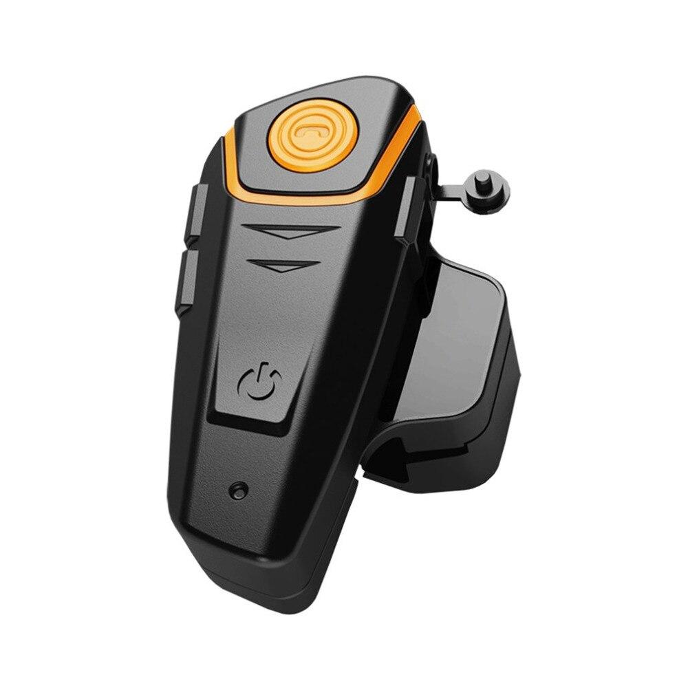 1 Sets Waterproof Bluetooth 3.1 Motorcycle Helmet Earphones Hands-free Stereo Motorbike Intercom Headset FM Radio UK Plug