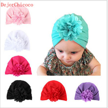 1-6 Years Old Children Hat Hollow Flower Knot Bohemian Style Baby Cotton Hats Infant Cap Boy Girls Caps Accessories DejorChicoco(China)