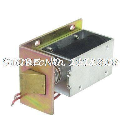 Door Lock Assembly Solenoid Electromagnet DC 12V 0.83A 5mm 0.6Kg<br>