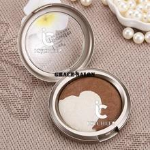 2 Colors Makeup Cosmetics Baked Shadding Bronzer Powder Concealer Highlighter
