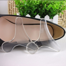 1 Pair Foor Care Transparent T Shape Invisible Silicone Shoes Heel Of Sexy Lady Cushion Pads Insoles