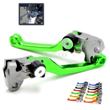 dirt bike Pivot Brake Clutch Levers Foldable For KAWASAKI KX 250F 450F 125 250 for YAMAHA YZ 250F 80 426F WR 250F 450F 2001-2007