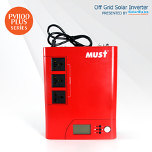 MUST POWER PV1100 Plus 2.4KVA High Frequency Modified Sine Wave Off Grid Solar Inverter with Built-in 50A PWM Charge Controller